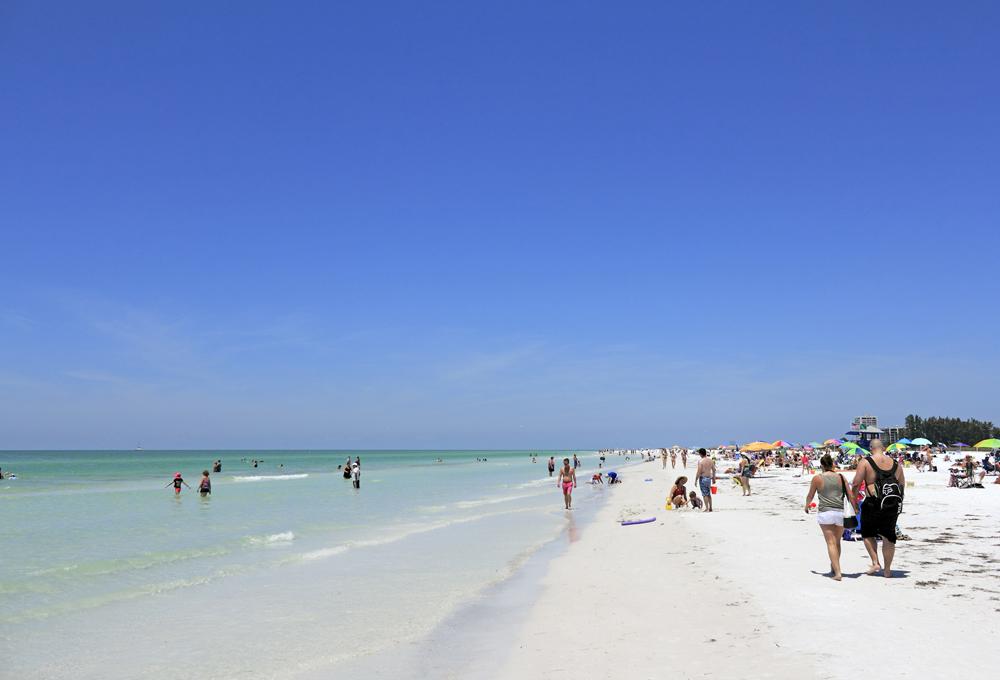 mejores playas del mundo Siesta Beach en Florida Estados Unidos