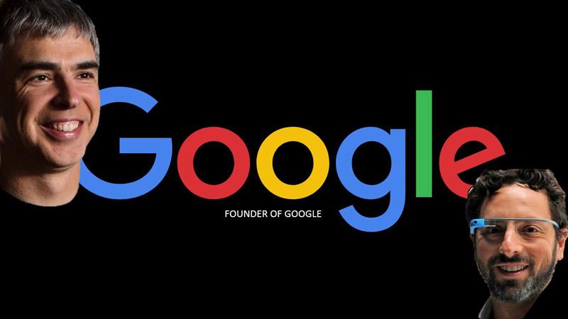 10 emprendedores famosos Larry Page & Sergey Brin CREADORES DE GOOGLE trending magazine