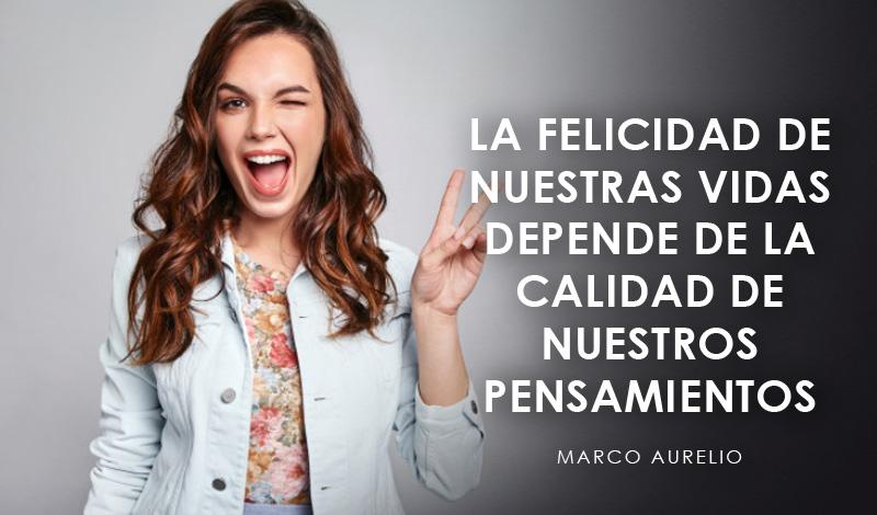 Felicidad Frases cortas para valorar la vida exito frase Marco Aurelio trending magazine revista
