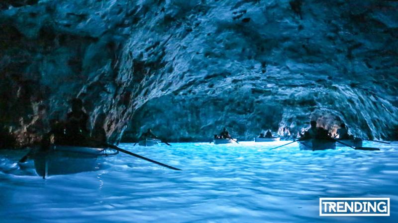 La Gruta Azul Italia trending magazine revista turismo