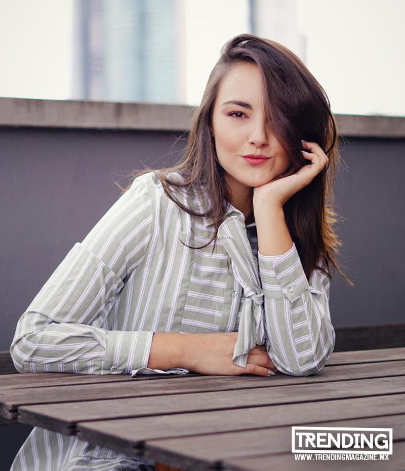 Jade Fraser en portada Trending Magazine puebla cdmx mexico entrevista revista