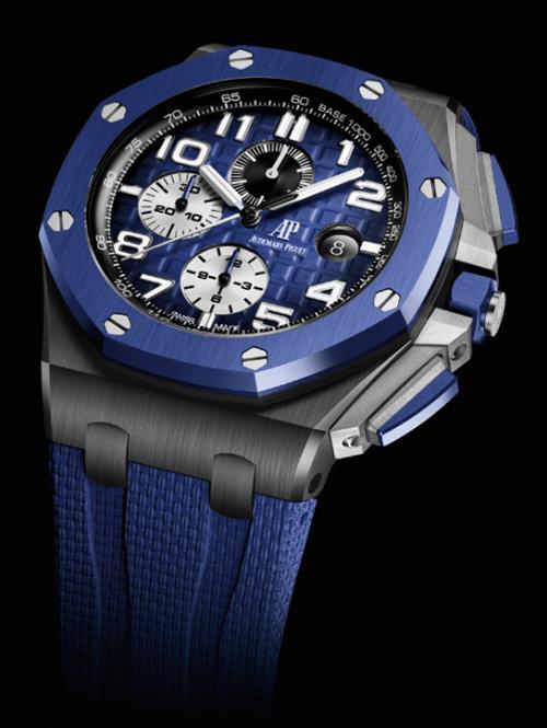 royal_oak_azul Audemars Piguet lanzamientos 2020 trending magazine revista relojes de lujo hombre